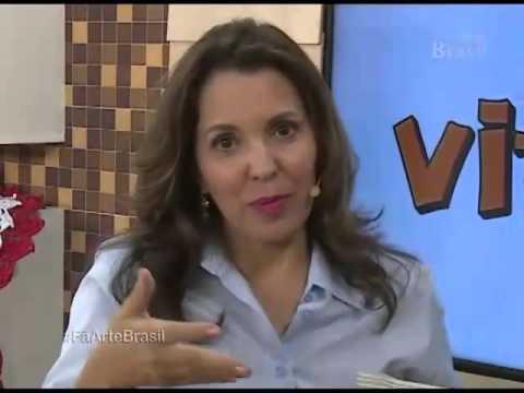 Programa Arte Brasil   Tapete Charmoso   Maria José