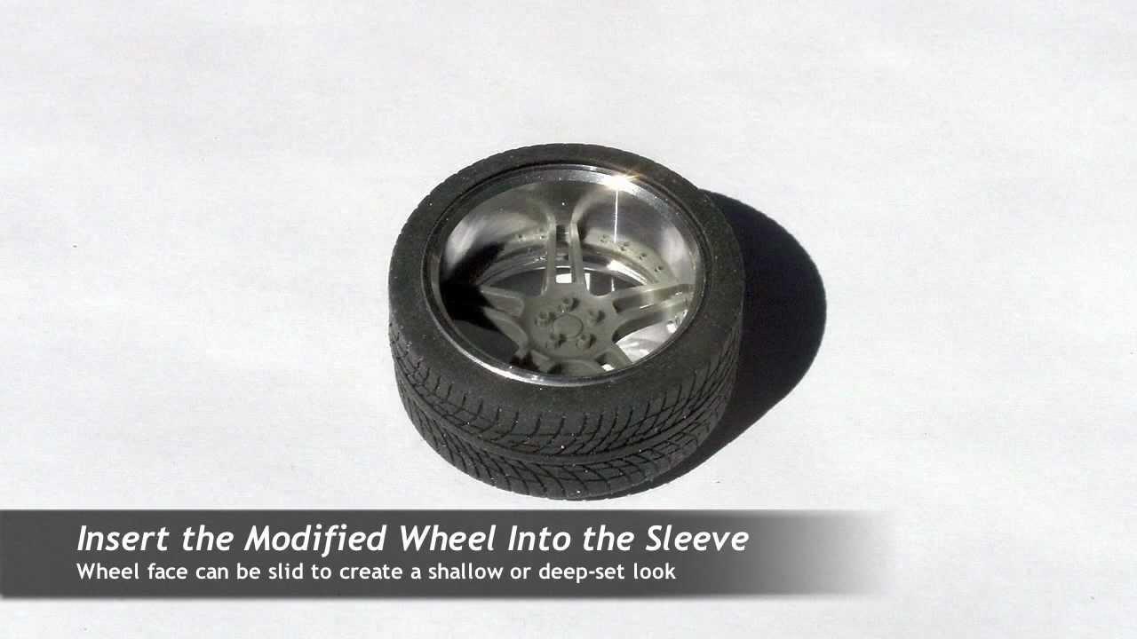 How To Make Custom Wheels Using Pegasus Hobby Design Parts Youtube