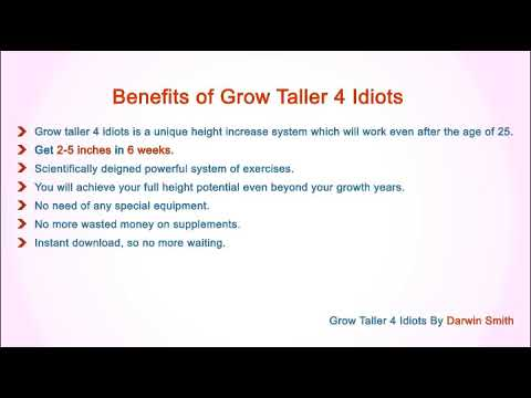 Download Free Grow Taller 4 Idiots Pdf Ebook Review Scam Youtube