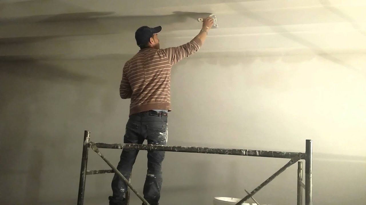 come rasare un soffitto - youtube
