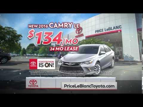 Price Leblanc Toyota 2015 Toyotathon Camry