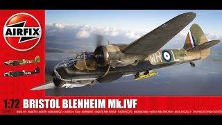 Airfix 1/72 Bristol Blenheim MK.IV - (Part 1)