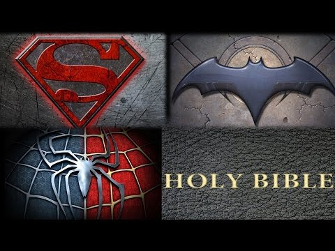 SUPERHEROES IN LIGHT OF THE BIBLE!!
