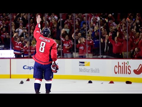 Ovechkin scores 500th NHL goal