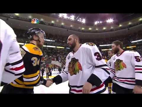 Blackhawks-Bruins Handshake Line (2013 Stanley Cup Final)