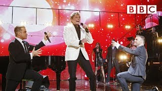 Barry Manilow, Robbie Williams and Gary Barlow - Could It Be Magic at Children In Need Rocks 2013