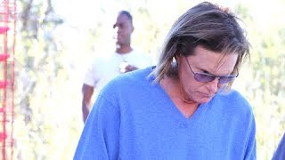 Bruce Jenner Angrily Speeds Away When Asked If He