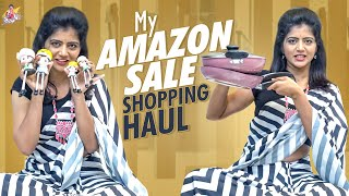 My Amazon Sale Shopping Haul || Amazon online shopping || Shivajyothi ||Jyothakka ||