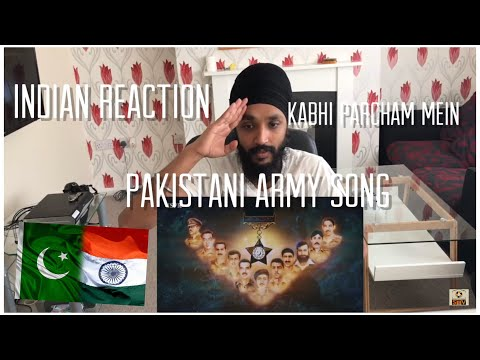 Kabhi Parcham mein | Atif Aslam | Pakistani Army Song Reaction
