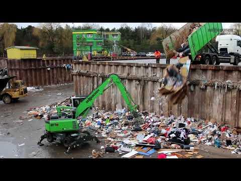 SENNEBOGEN - Abfallrecycling: Umschlagbagger 817 Mobil, München