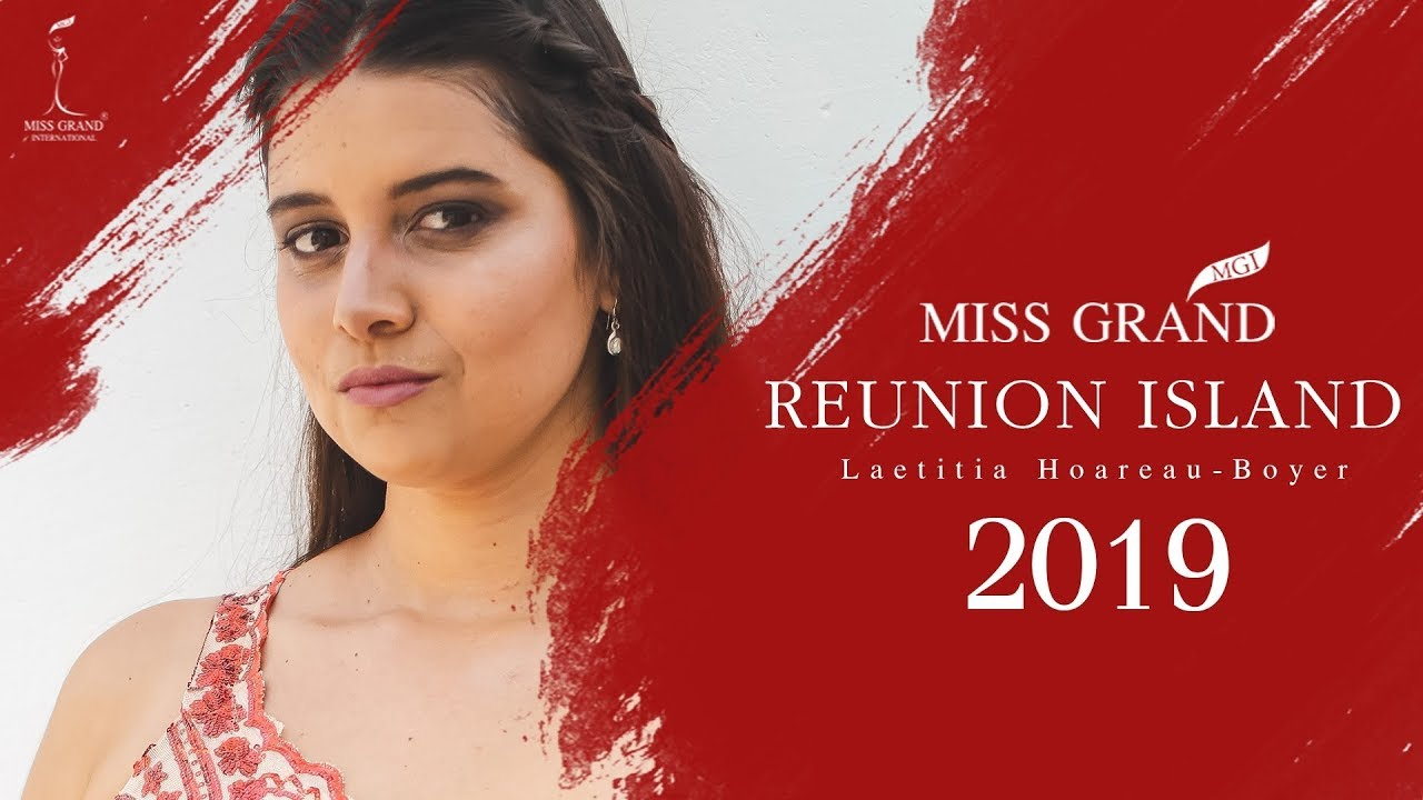 Introductory VDO of Miss Grand Reunion Island 2019