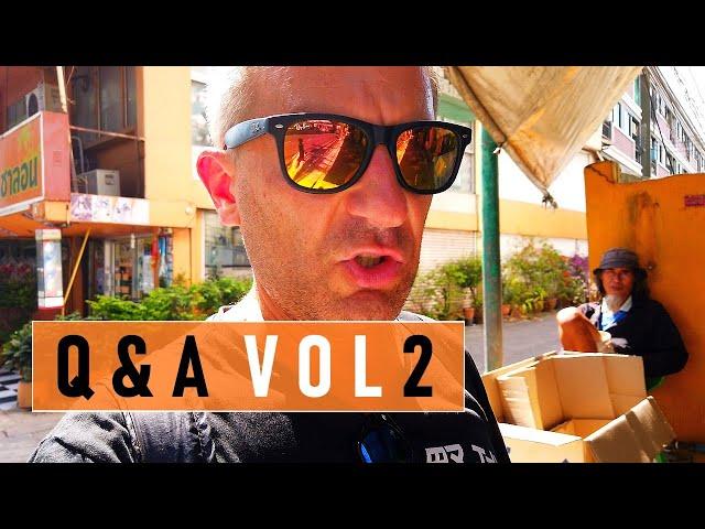 Q&A 2. Jak mieszkamy w Bangkoku?  VLOG #11