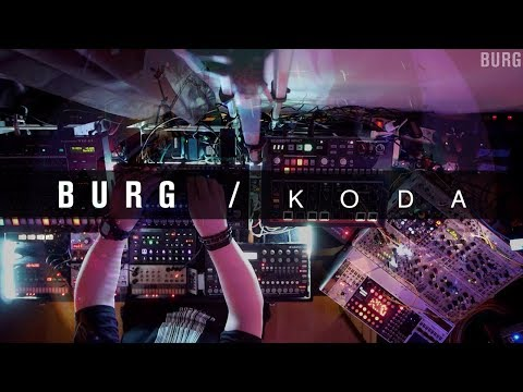 BURG - Koda #Subsequent37 #AvalonBassline #Drumbrute #NovationPeak #Digitakt