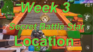 Week 3 Secret Battle Star - Exact Location - Season 8 - Fortnite Battle Royal - Jason Mc