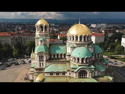 Пловдив / Plovdiv Bulgaria by Drone from YouTube · Duration:  3 minutes 9 seconds