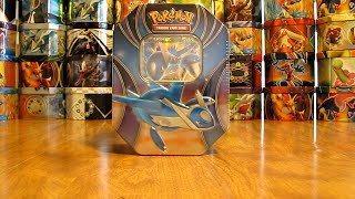 Pokemon Latios EX Tin Opening