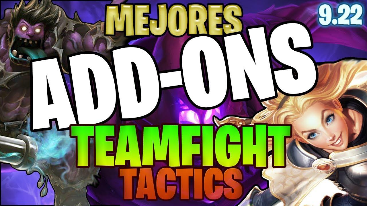 Addons para tft   Mejores addons teamfight tactics   Como ver en tft los  objetos   addons tft lol