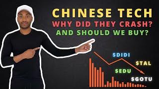 MASSIVE Crash in Chinese Tech Stocks! Should We Buy? $EDU $TAL $DIDI $GOTU