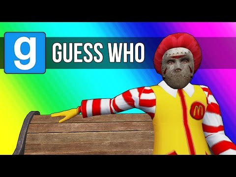 Gmod Guess Who - Mcdonald's Edition! (Garry's Mod Funny Moments)
