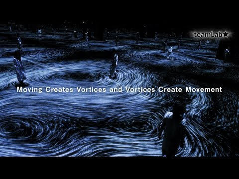 Step Inside a Swirling Mirror Room of Interactive Ocean Vortices by teamLab | Colossal