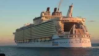 Allure Of The Seas Departs Miami