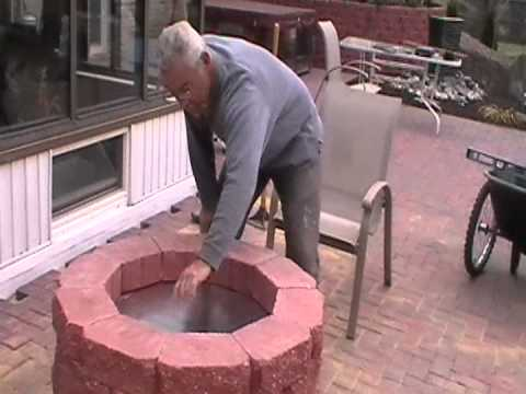 make your own gas fire pit part 5 of 10 youtube. Black Bedroom Furniture Sets. Home Design Ideas