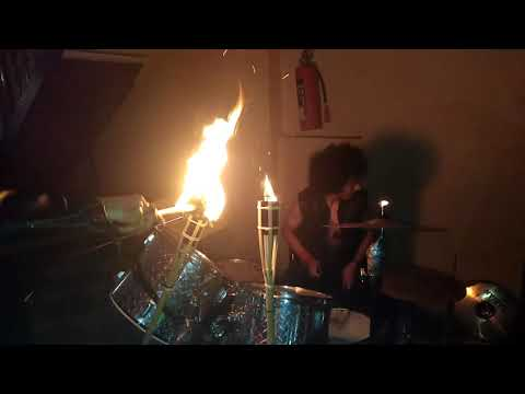 Leather Belt - Red Slay - (With Drum Solo) -  Friday 13th