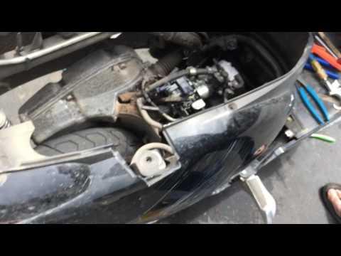Honda NHX110 check engine light