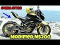 Modified Pulsar NS 200 By Ong Liong Co