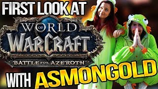 NEW Expansion Preview feat. Asmongold (BlizzCon Stream #1)