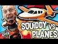 SQUIDDY VS PLANES!! - GTA V FUNNY MOMENTS!! #7