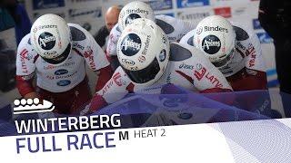 Winterberg | BMW IBSF World Cup 2016/2017 - 4-Man Bobsleigh Heat 2 | IBSF Official