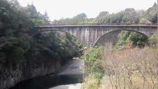 轟橋20130316(大分県豊後大野市清川町)
