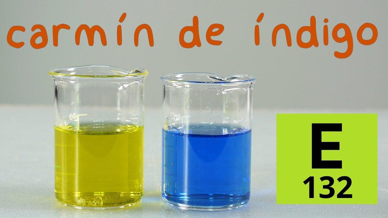 Carmín de Índigo. Colorante e Indicador de pH y Redox