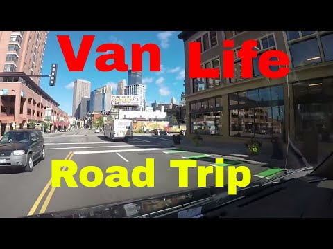 Van Life On The Road Minneapolis MN Expose The Great American Road Trip - 동영상