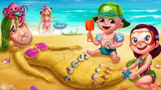❤️Summer Vacation - Fun At The Beach , Tabtale Vacation Kids Games - Android iOS Gameplay Video