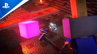 Minecraft Dungeons - Cross-Platform Play Trailer | PS4