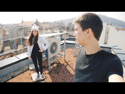 Felmásztunk a város tetejére