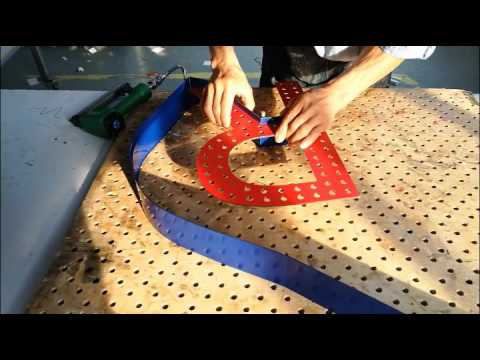 Making Channel Letter With Hole Board (Drilled Board)