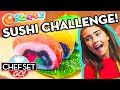 Super Fine CRUSH SUSHI on Chef Set Go!  | Official Orbeez