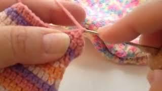 Как связать носки крючком часть 4