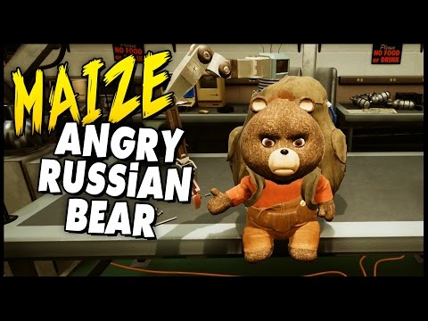 Maize - Ep. 2 - Angry Russian Teddy Bear Vladdy [Let's Play Maize Gameplay Walkthrough] Sponsored