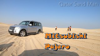 Qatar, Winch Recovery of a Mitsubishi Pajero in Soft Sand at the Inland Sea
