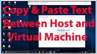 How To Copy and Paste Text between Virtual Machine and Host Machine On Virtualbox ?