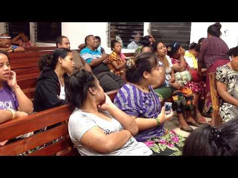 Happy Easter at Kapingamarangi church 042015  2416