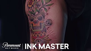 The Artists Reveal Their 35 Hour Tattoo | Master vs. Apprentice (Season 6)