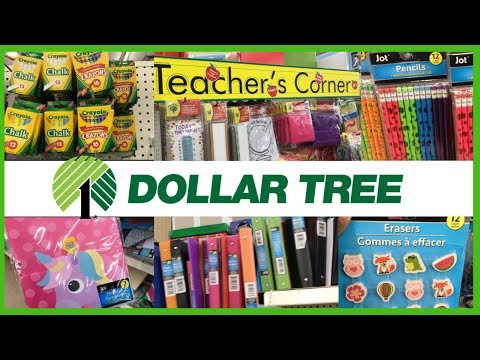 DOLLAR TREE BACK TO SCHOOL SUPPLIES SHOP WITH ME 2019