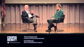 Thomas Heatherwick in Conversation with Paul Goldberger