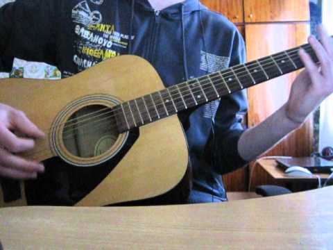 how to play blur song 2 on acoustic guitar