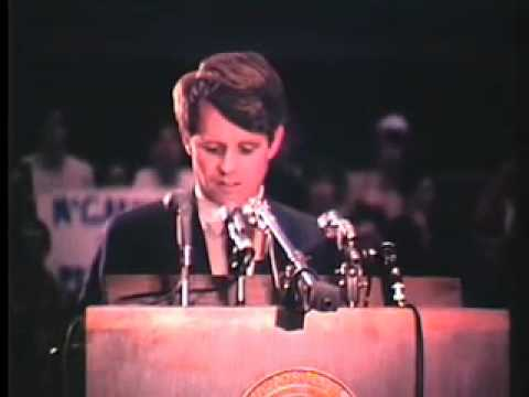 Robert F. Kennedy at the University of Kansas